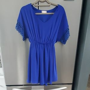Royal blue dressy/casual dress. Worn once.